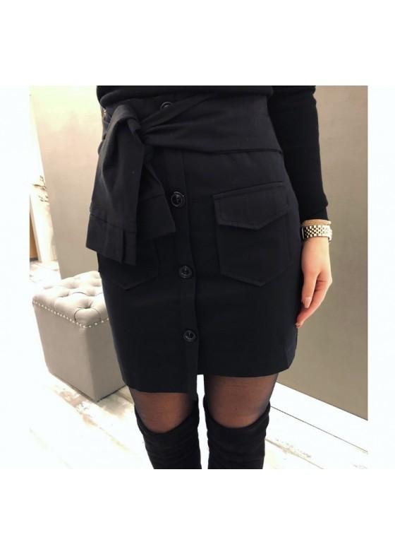 Skirt Black Knot
