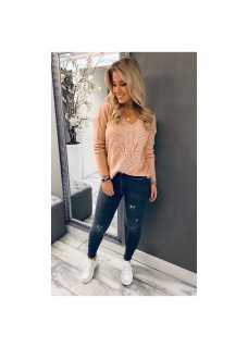 Sweater Lace Pink