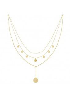 Necklace La Reina Gold