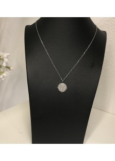 Necklace Silver Rond
