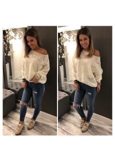 Sweater Nela Offwhite / SALE