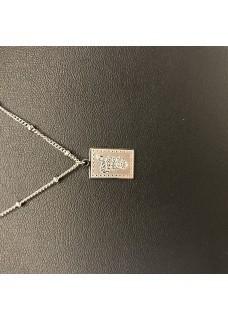 Necklace Silver Snake