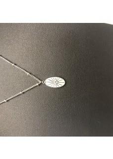 Necklace Silver Bij