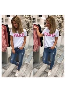 Tee Paris Pink SALE