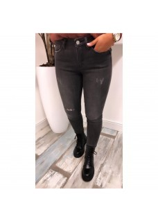 Queen Jeans Darkgrey