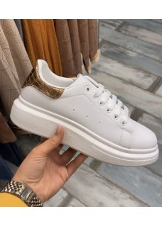 Sneakers White / Rose Gold
