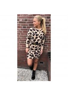 Twinset Leopard Beige/Black