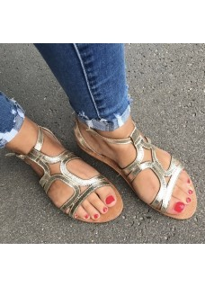 Sandaaltjes Gold