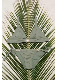 Bikini Bottoms Glossy - Olive