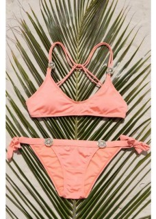 Bikini Bottoms Glossy - Peach