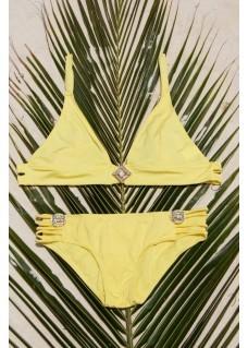 Bikini Bralette Top Cosmo - Yellow