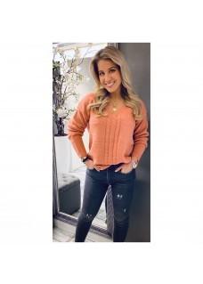 Sweater Peach Glitter