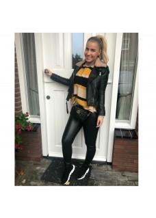 Leather Look Jacket Bontje SALE