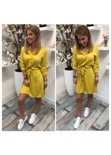 Dress Ceintuur Yellow