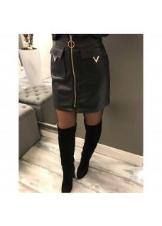 V Skirt Black SALE