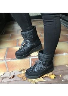 Moonboots Black/Grey
