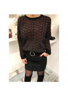 Veter Sweater Black/Orange SALE