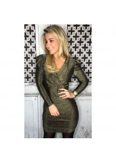 Glitter Dress Gold