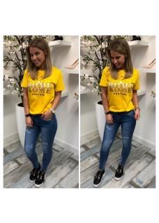 Azuka Rome Shirt Yellow SALE