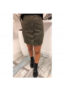 Dots Skirt Green