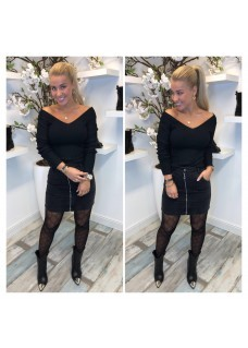 Top V Black