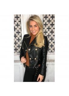 Leather Look Jacket Drole SALE