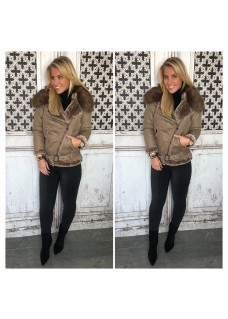 Lammy Coat Light Brown