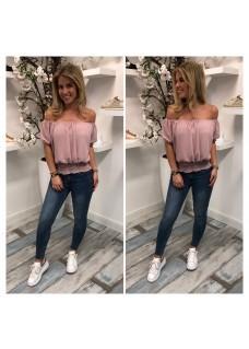 Kaylee Top Roze