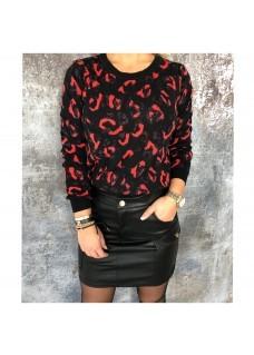 Sweater Black / Orange DAYDEAL