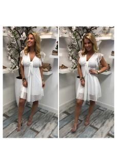 Kuna Dress White