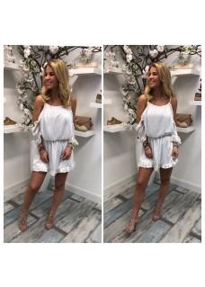 Short Dress White