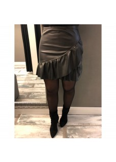 Skirt Black Roes  SALE