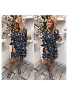 Dress Print Blue
