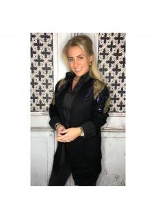 Glam Vest Black