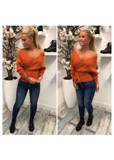 Sweater Tura Orange