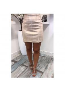 Skirt Creme-Gold