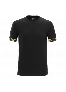 Malelions T-Shirt Gold Black