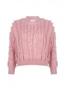 Delousion Sweater Feather Pink
