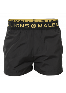 Malelions Swimshort Gold Black